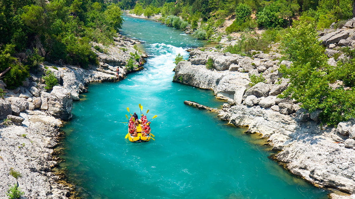 Koprulu Canyon National Park: Rafting in a Historical River ...