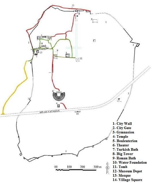 Stratonikeia City Plan